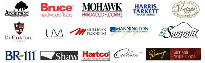 Monavé Hardwood Flooring - Brands we work with