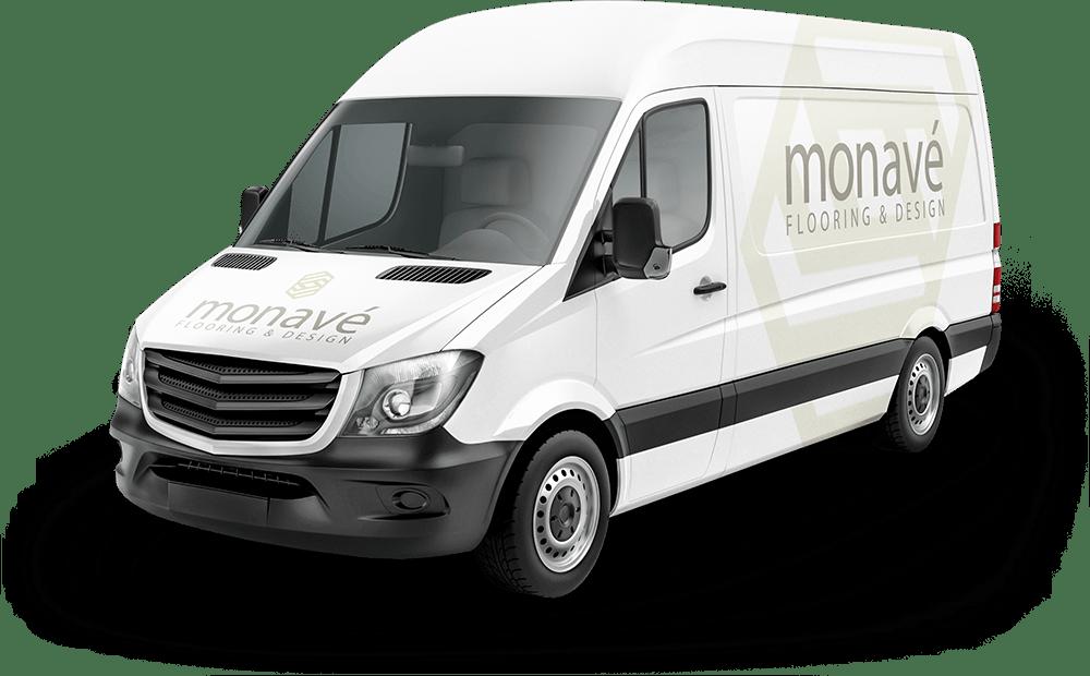 Monavé Flooring Van